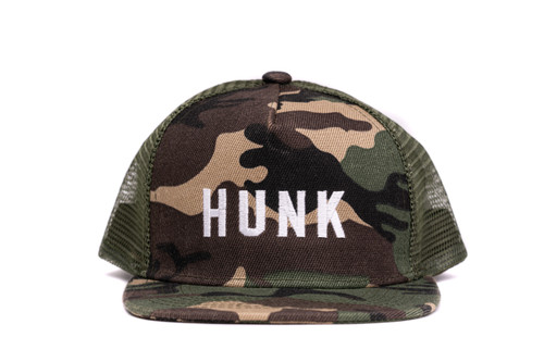 Hunk Camo Trucker Hat