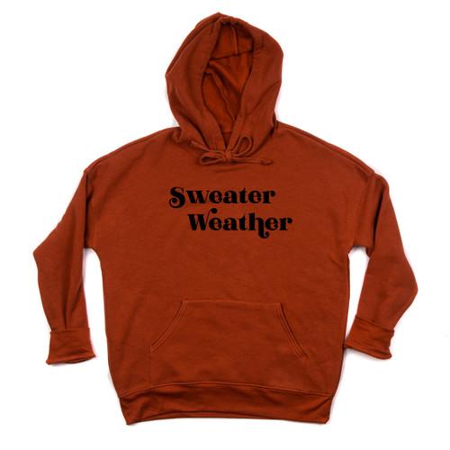 Sweater Weather - Brick Hoodie
