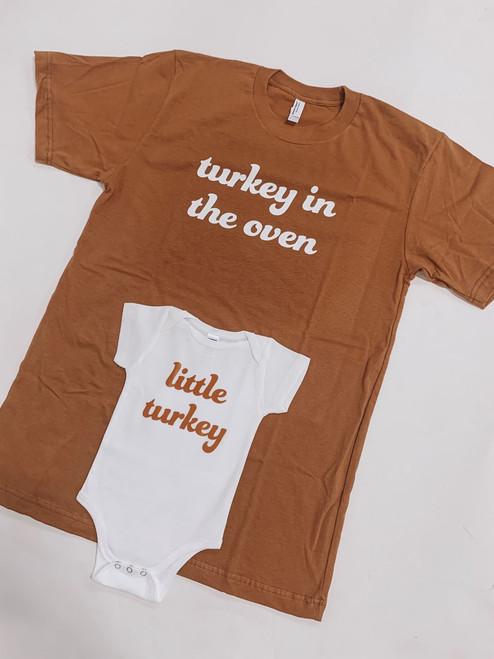 Turkey in the Oven + Little Turkey Set