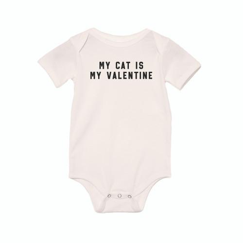 My Cat Is My Valentine - Bodysuit