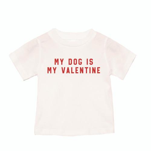 My Dog Is My Valentine - Kids Tee