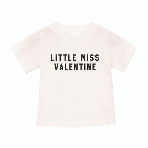 Little Miss Valentine - Kids Tee