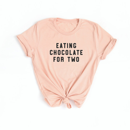 Eating Chocolate for Two - Adult Unisex Tee