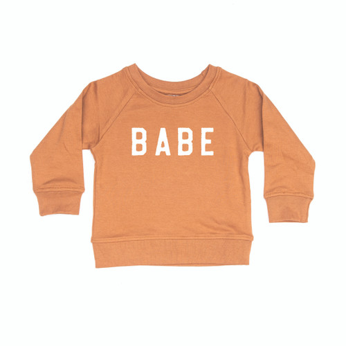 BABE Rough - CAMEL Organic Infant Pullover