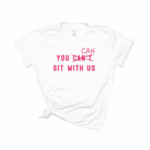 You can sit with us - Tee