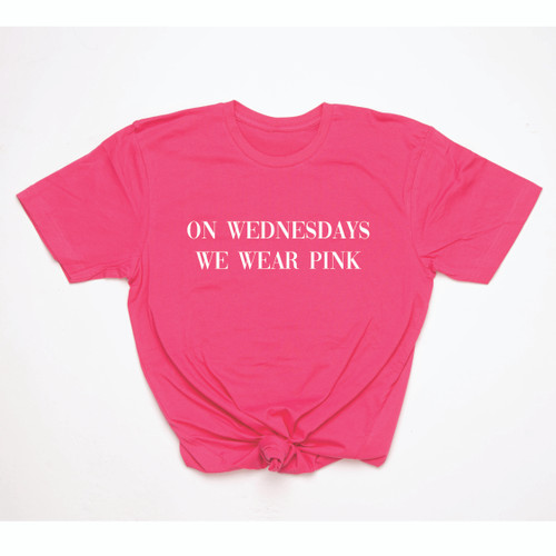 On Wednesday we wear pink - Adult Tee
