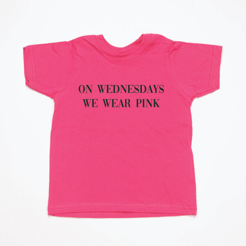On Wednesday we wear pink - Kids Tee