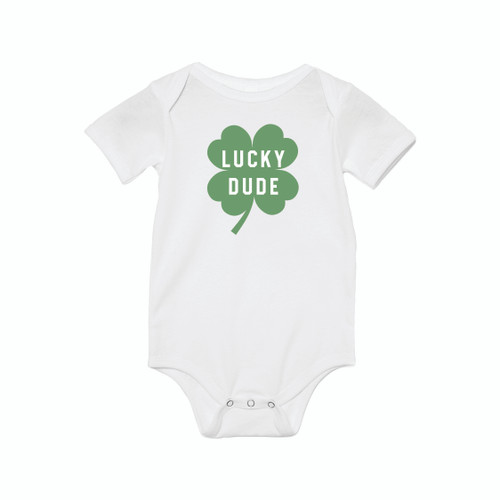 Lucky Dude (St. Patrick's) - Bodysuit