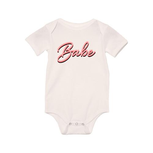Babe, Bebé, Baby... (90's Inspired) - Bodysuit