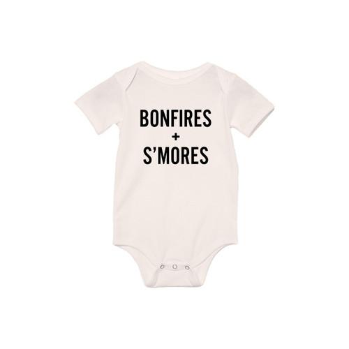 Bonfires + S'mores - Bodysuit
