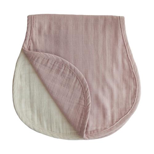 BURP CLOTH (BLUSH/FOG)