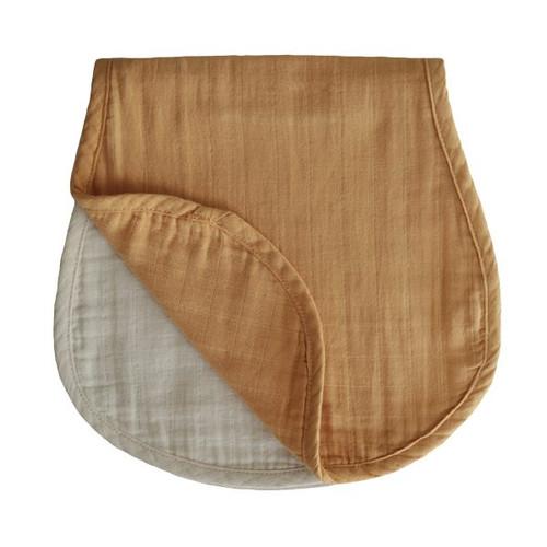 BURP CLOTH (FALL YELLOW/FOG)