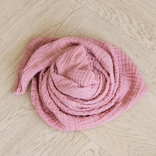 Classic Muslin Swaddle - Blush Pink