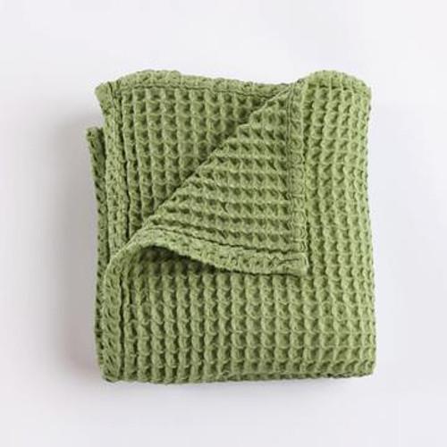 Waffle Blanket - Olive