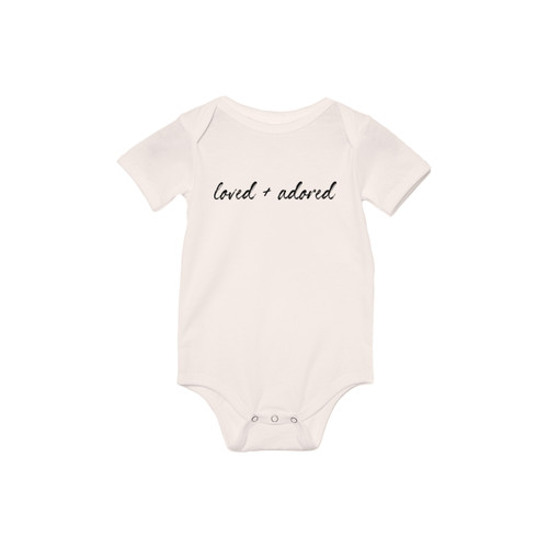Loved and Adored - Bodysuit