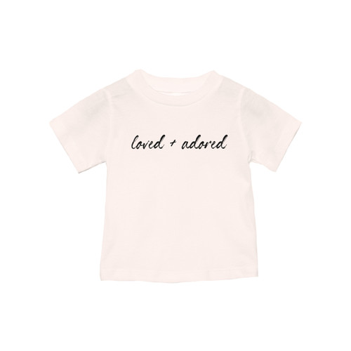 Loved and Adored - Kids Tee
