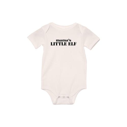 Mama's Little Elf - Bodysuit