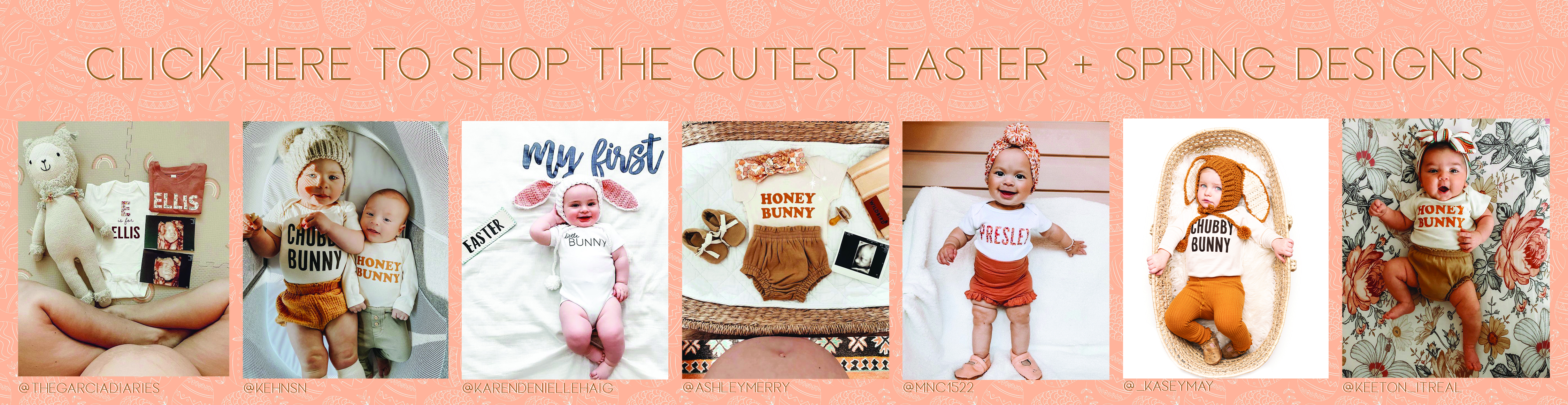The Cutest Easter Shirts & Spring Shirts