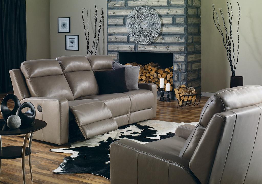 Palliser Forest Hill Leather Recliner Sofa Model 41032