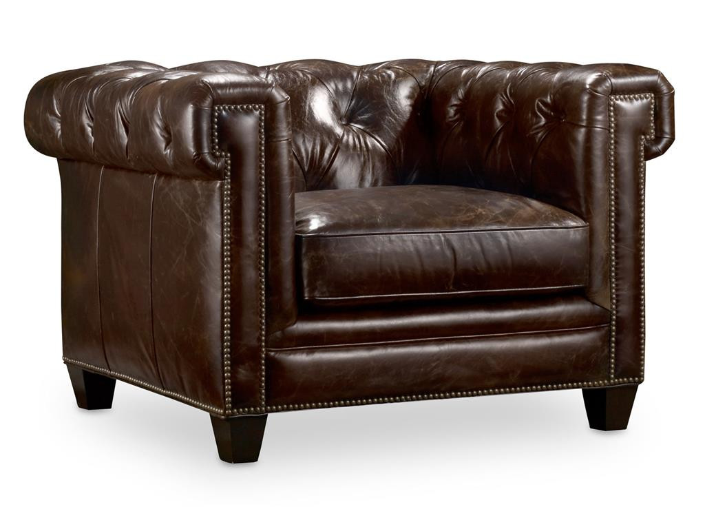 Hooker-SS195-089 Chesterfield Chair Imperial Regal