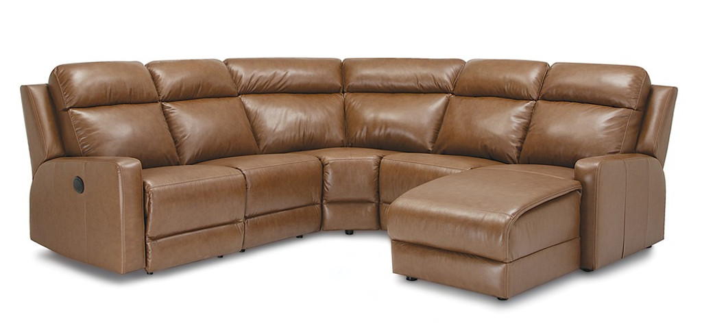 Palliser Leather Recliner Sectional Model Forest Hill 41032