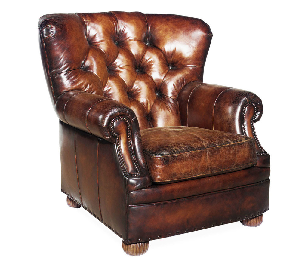 American Heritage Birmingham Barrel Tufted Chair-20% off