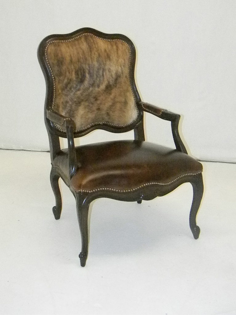 American Heritage Carved Accent  Chair-15% OFF