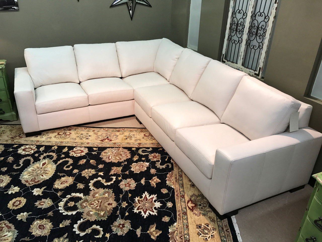 Wondrous American Heritage Designer Choice Sectional Save 25 Andrewgaddart Wooden Chair Designs For Living Room Andrewgaddartcom