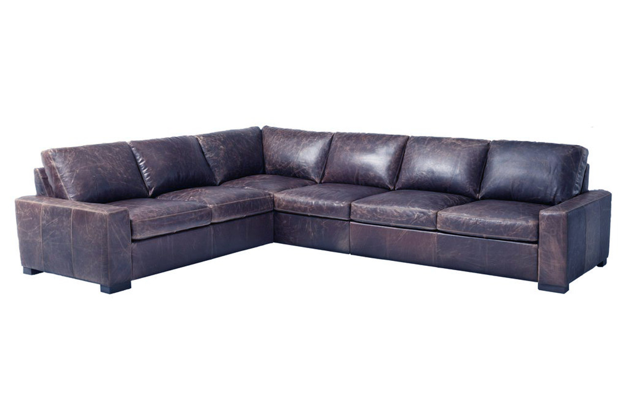 Giselle Leather Sectional