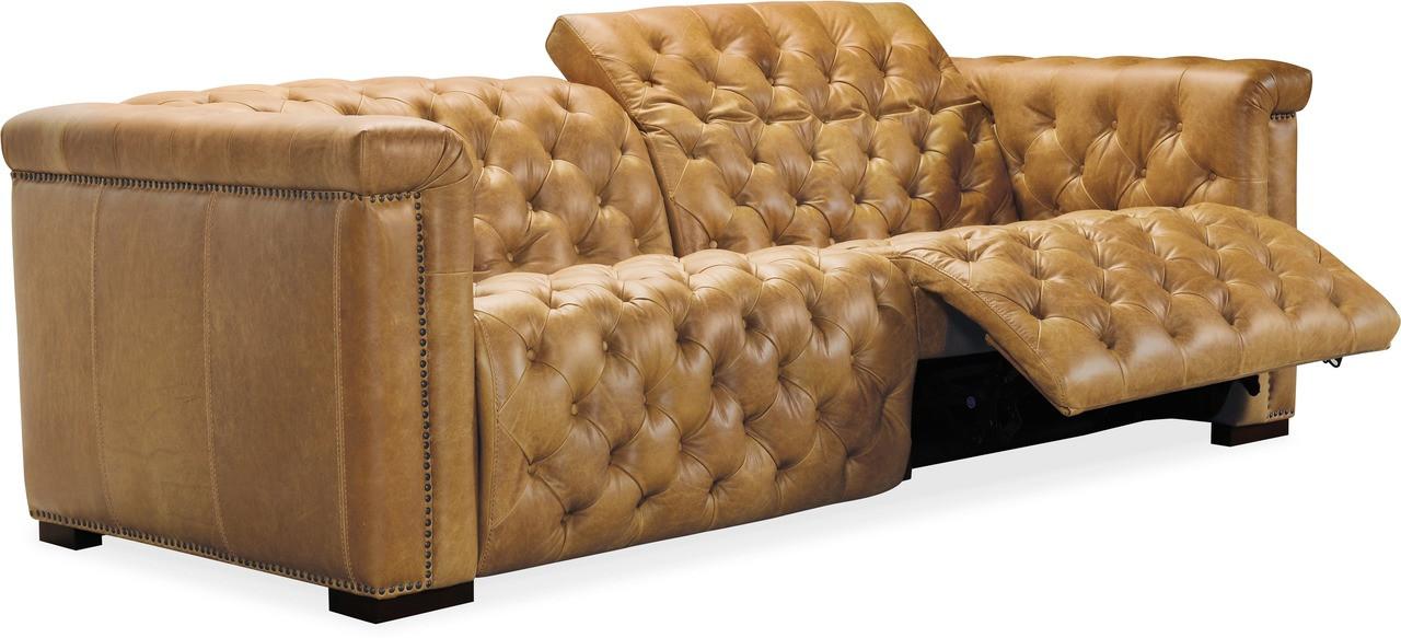 Prime Hooker Ss434 P3 Savion Power Seat Recliner Sofa Light Brown Andrewgaddart Wooden Chair Designs For Living Room Andrewgaddartcom