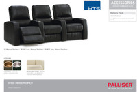 Palliser 41920 Pacifico  Theater Seats