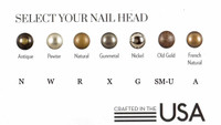 Choose a nail where applicable.