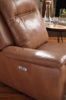 Palliser 41055 Riley Pwer Head/Seat Recliner Sofa
