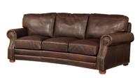 Recessed Roll Arm Conversation  Sofa