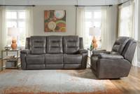 Palliser 41063  Leighton Pwer Head/Seat/Lumbar Recliner Sofa