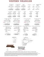American Heritage Western Wrangler Sectional Sofa -30% OFF