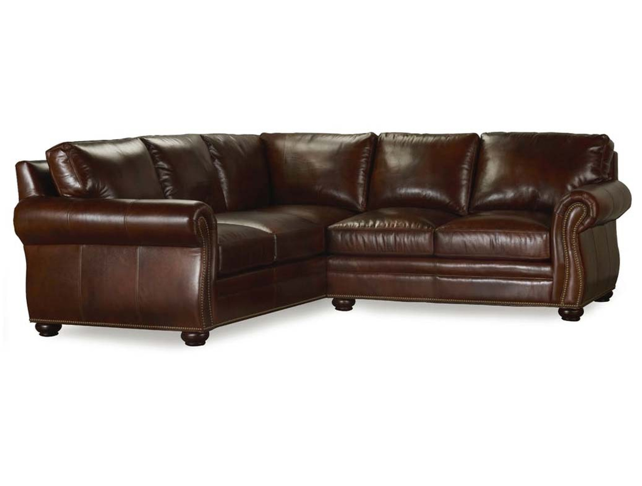 Bradington Young Leather Sofa And Sectional 221 Sterling Arm