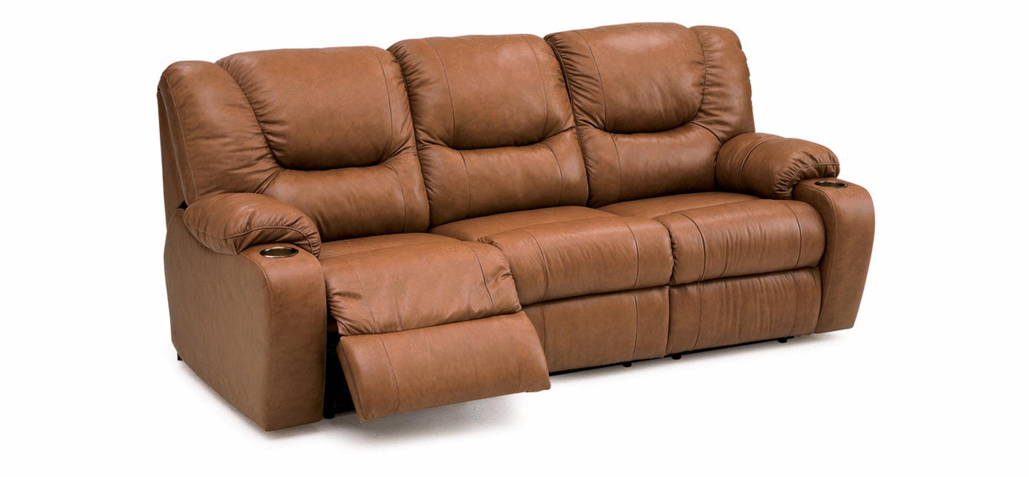 Palliser Dugan Leather Sofa Recliner Model 41012| Palliser ...