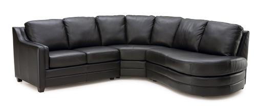 Palliser Miami Sectional From 1 968 00 By Palliser: Palliser Leather Sofa -Model: 77500 Corissa