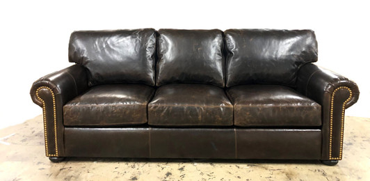 Western Leather Sofas, Ranch style Leather Sofas