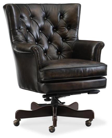 Hooker Furniture Office Chair Ec491 Ivy Hooker Furniture Desk Chairs By Leather Furniture Shoppes