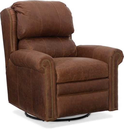 Bradington Young Leather Williams Recliner 4068 Rapid Ship