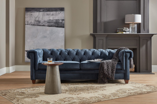 Palliser Miami Sectional From 1 968 00 By Palliser: Blue Leather Sofas And Sectionals