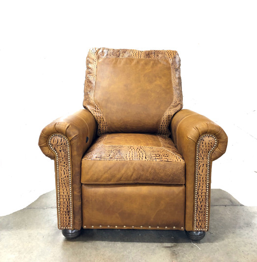 American Heritage Leather Chair And Recliners