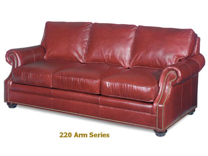 220 Warner Scooped Arm Custom series Sofa Model 220-95