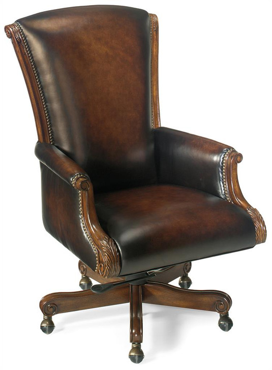 Leather Office Chair EC245 by Hooker Furniture