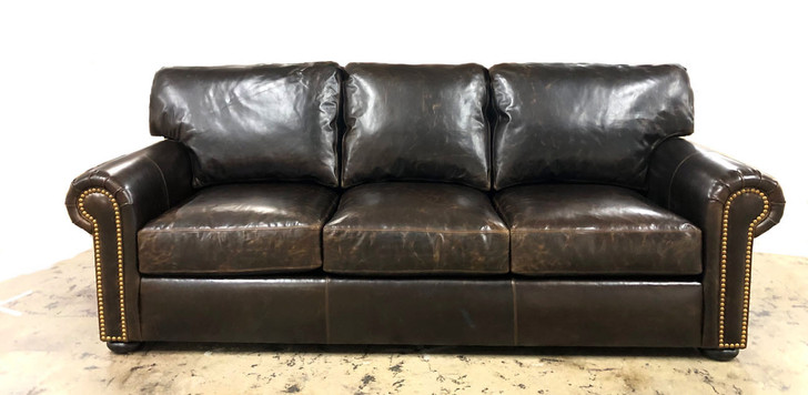 American Heritage Custom Arm Sofa Series 20% off any leather