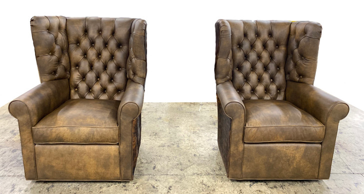 American Heritage Edison Wing Chair