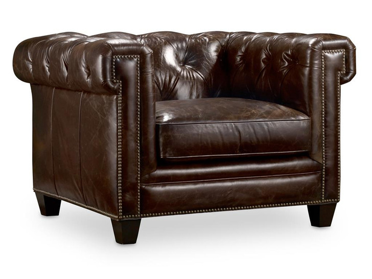 Hooker-SS195-01-089 Chesterfield Chair Imperial Regal