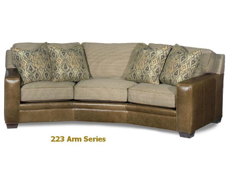 223 Hanley Custom Arm Series Model -99 Conversation Sofa